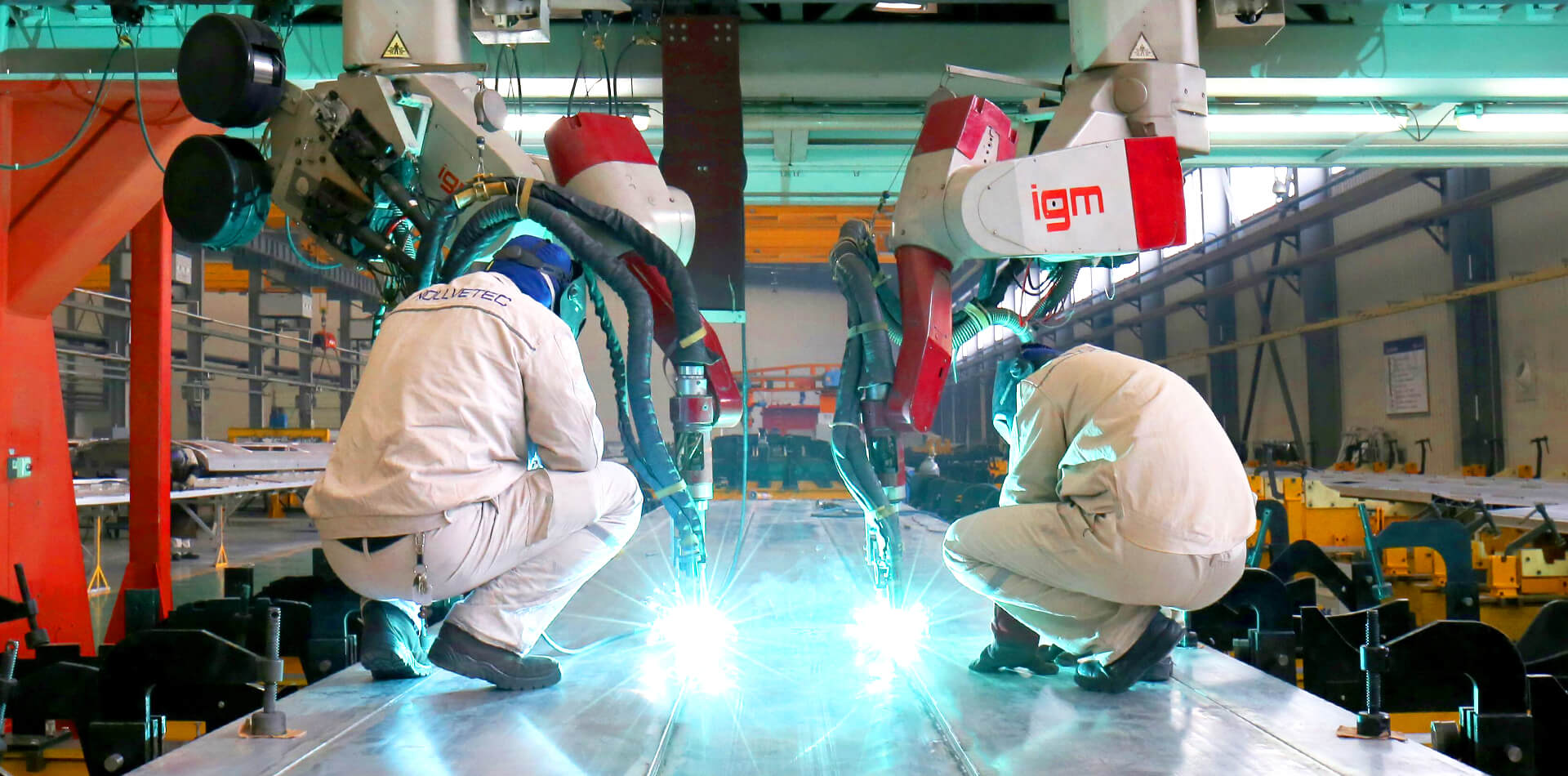 Adopt International Rail Vehicle Welding Standards